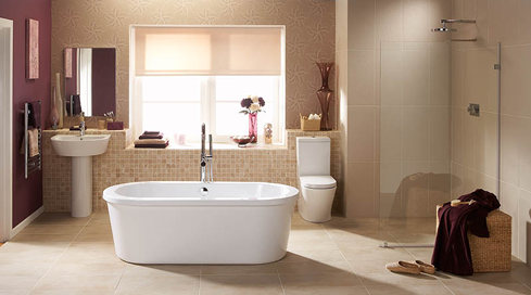 Vloerverwarming badkamer - Vloer&Verwarming.nl