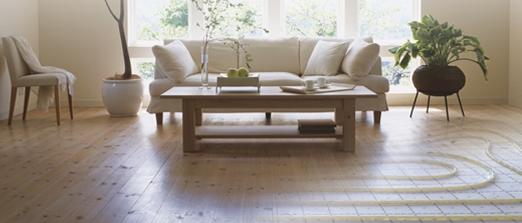 Zwevende dekvloer vloerverwarming - Vloer&Verwarming.nl